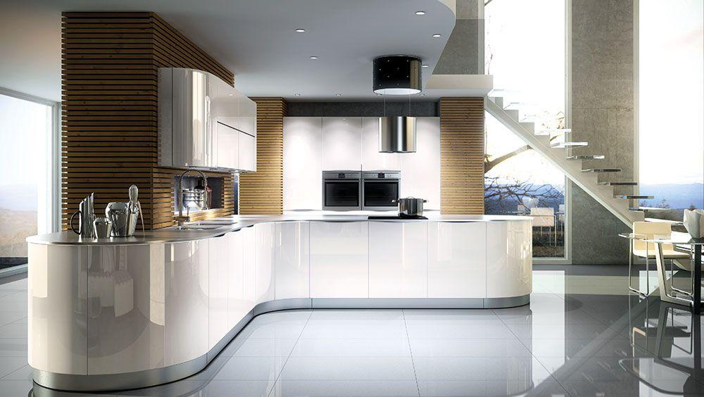 Stormer Küche im Mittelpunkt