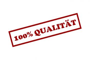 100% Qualität bei Küchen