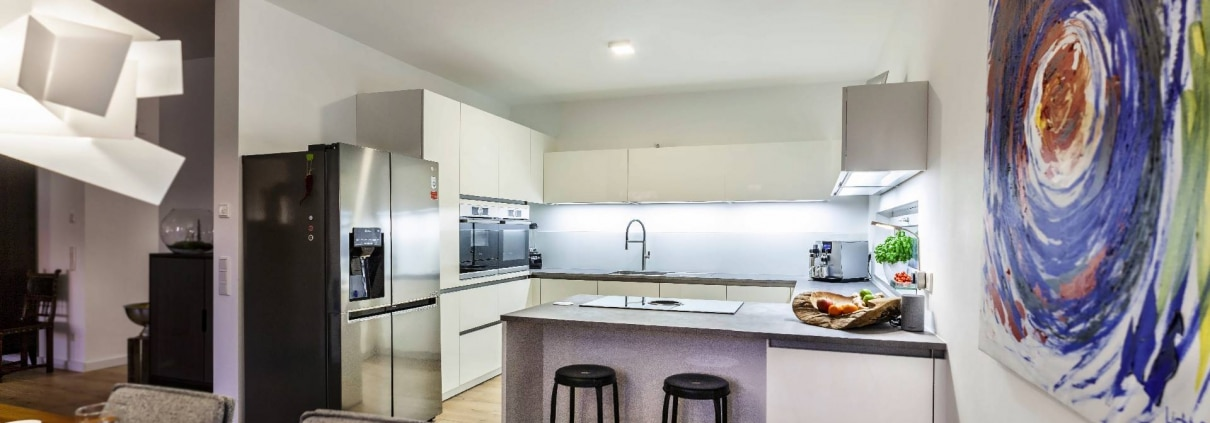 Küche von Artego in Weiß (1)